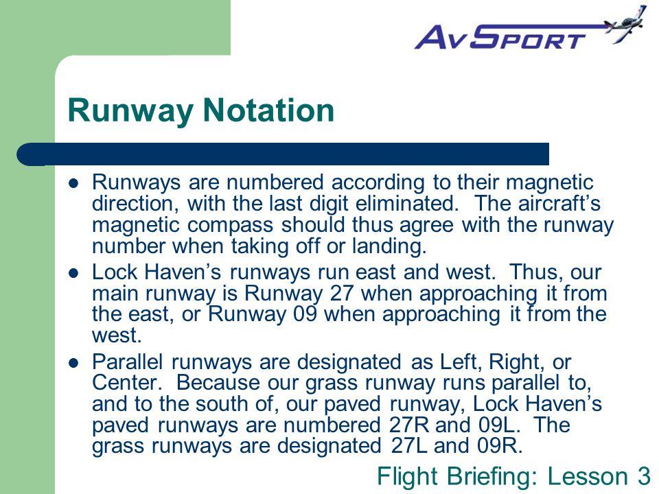 Runway Notation
