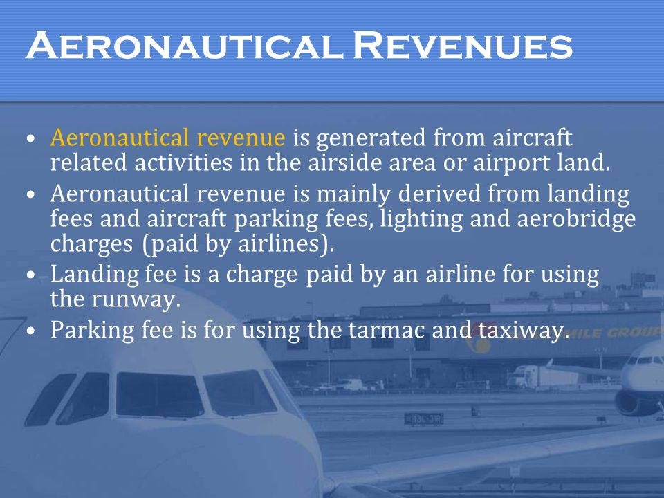 Aeronautical Revenues