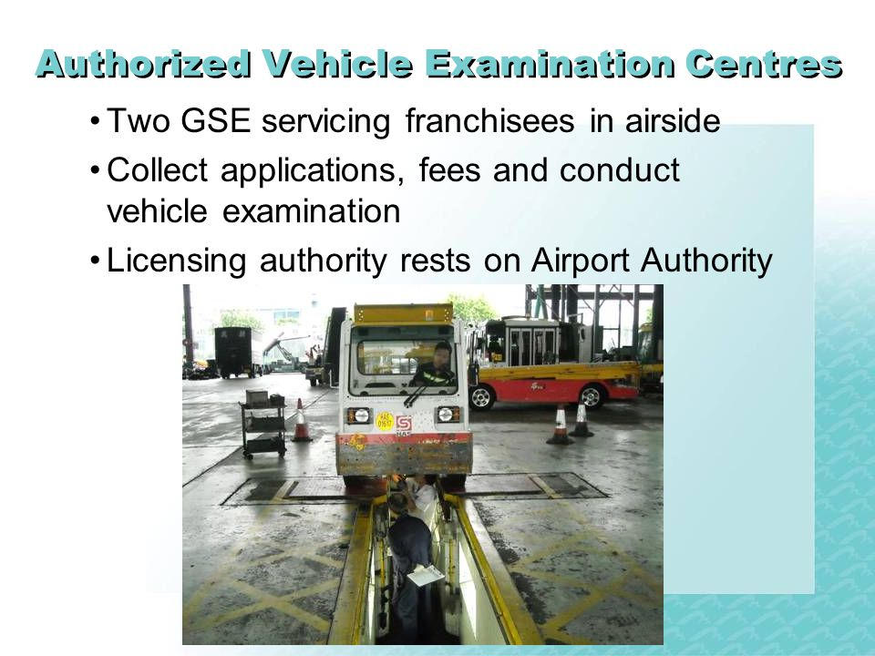 Authorized Vehicle Examination Centres