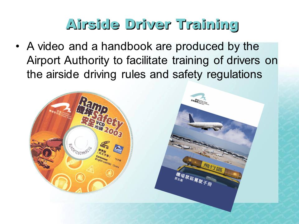 Airside Driver Training