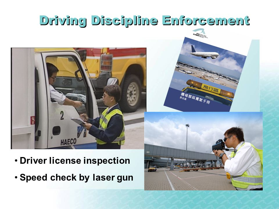 Driving Discipline Enforcement