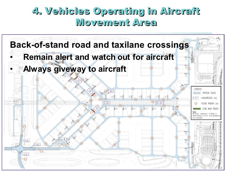 4. Vehicles Operating in Aircraft Movement Area