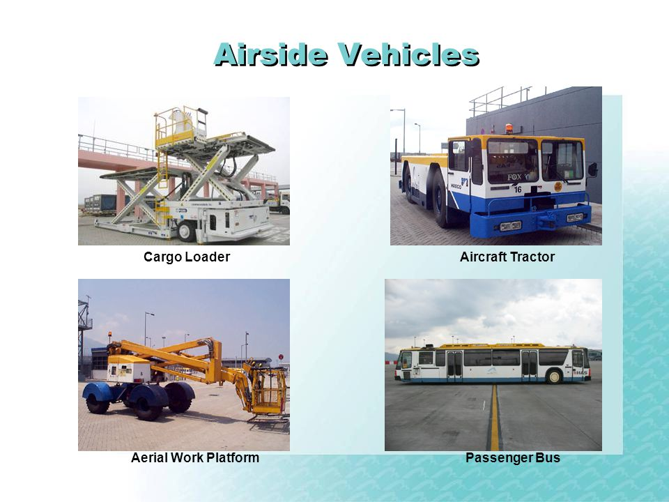 Airside Vehicles Cargo Loader Aircraft Tractor Aerial Work Platform