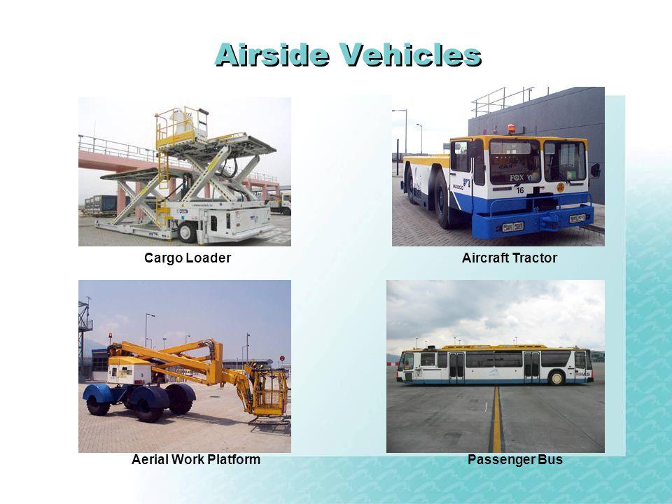 Airside Vehicles Cargo Loader Aircraft Tractor Aerial Work Platform