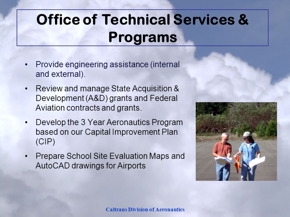 Office of Technical Services & Programs