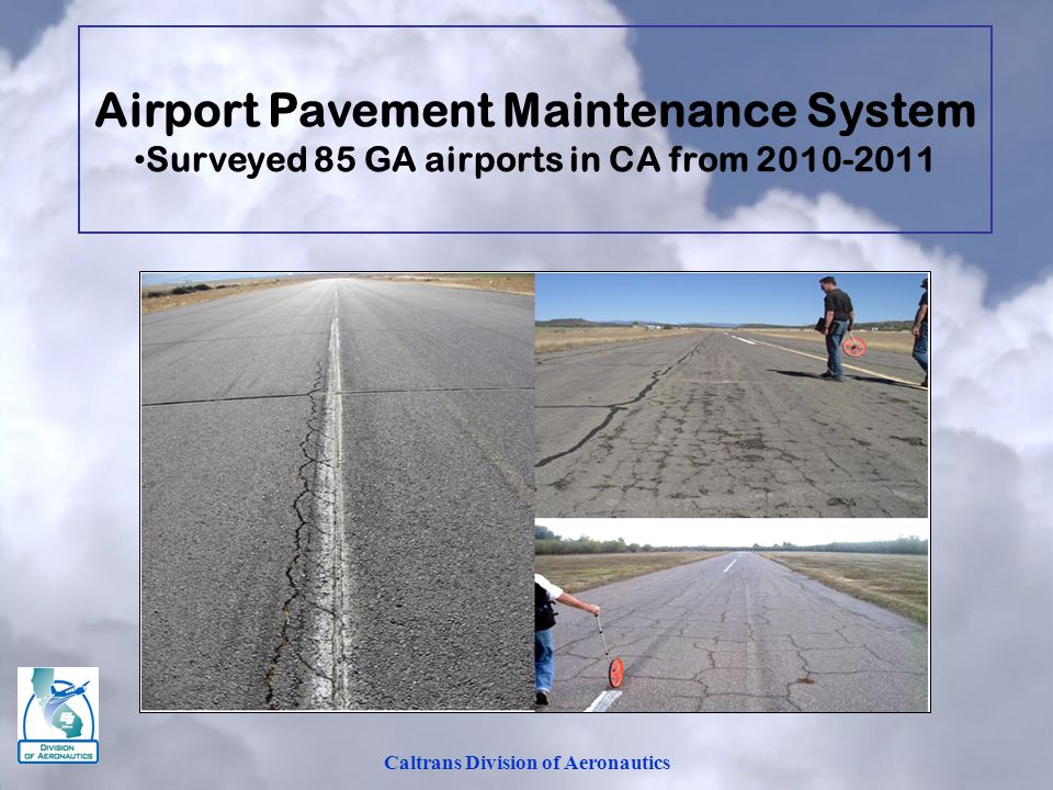 Airport Pavement Maintenance System