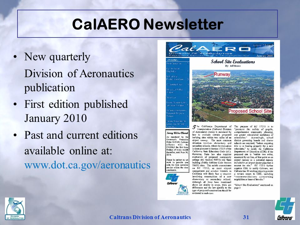 Caltrans Division of Aeronautics