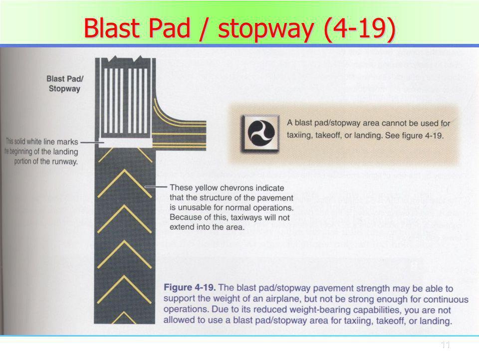 Blast Pad / stopway (4-19)