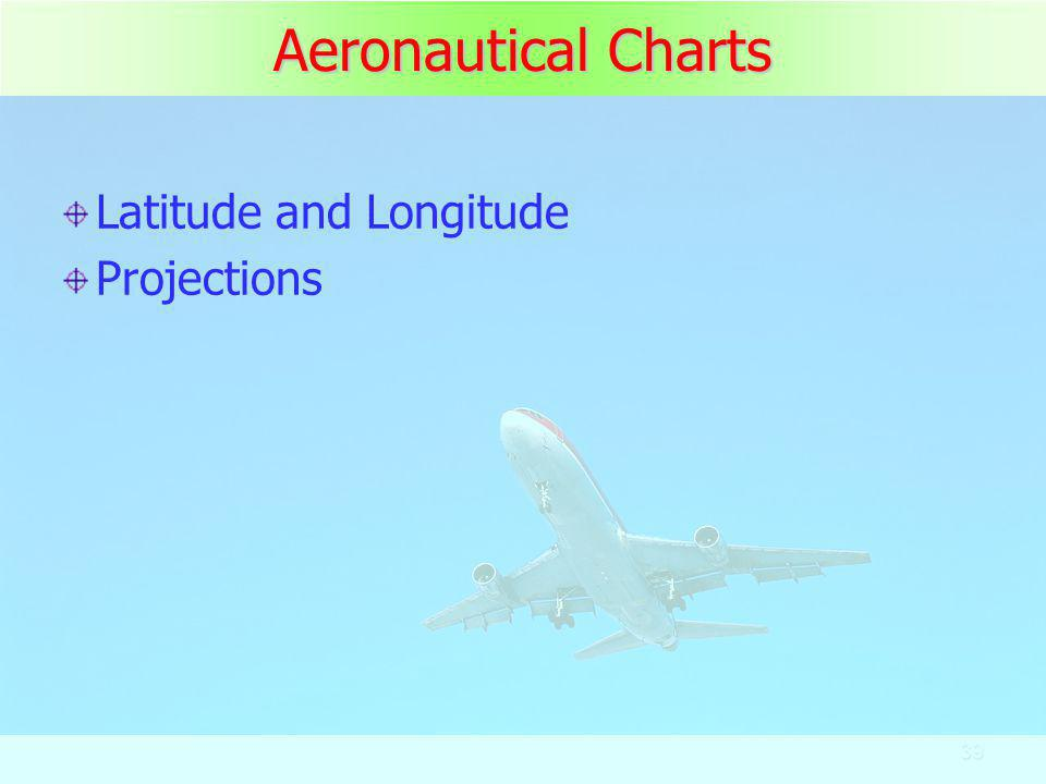 Aeronautical Charts Latitude and Longitude Projections