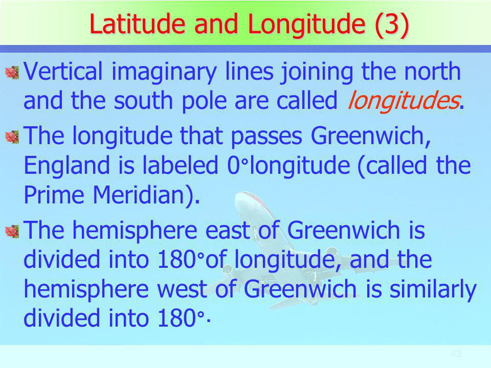 Latitude and Longitude (3)