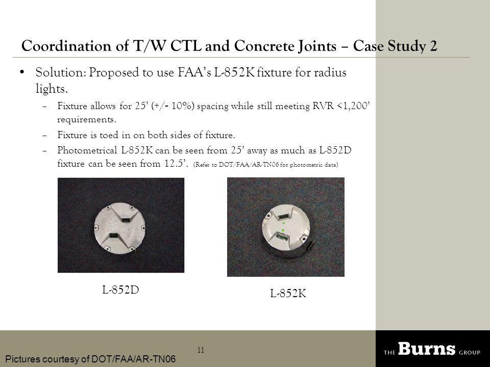 Coordination of T/W CTL and Concrete Joints – Case Study 2
