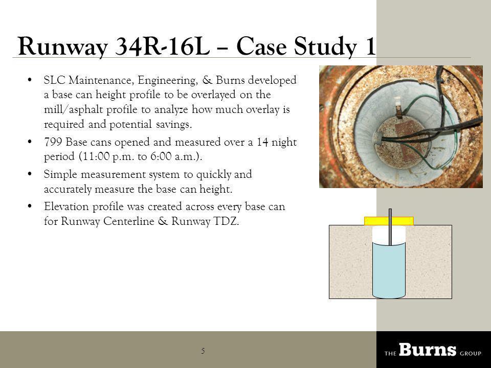 Runway 34R-16L – Case Study 1