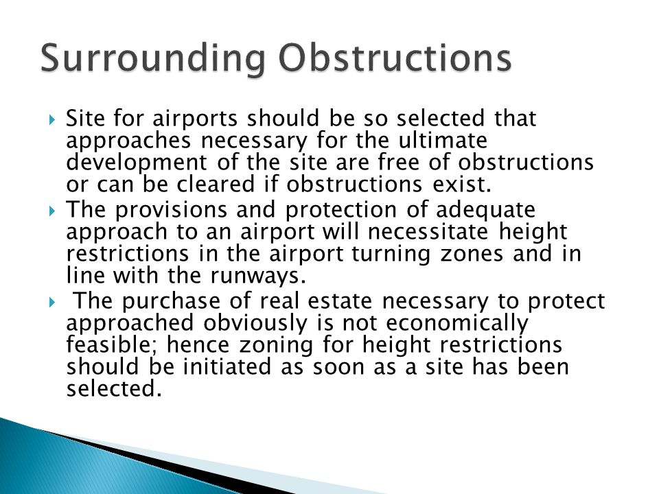 Surrounding Obstructions