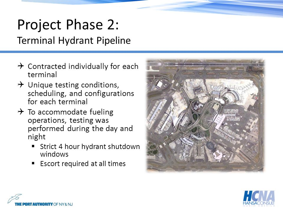 Project Phase 2: Terminal Hydrant Pipeline