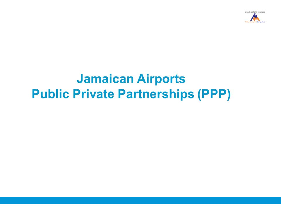 Jamaican Airports Public Private Partnerships (PPP)