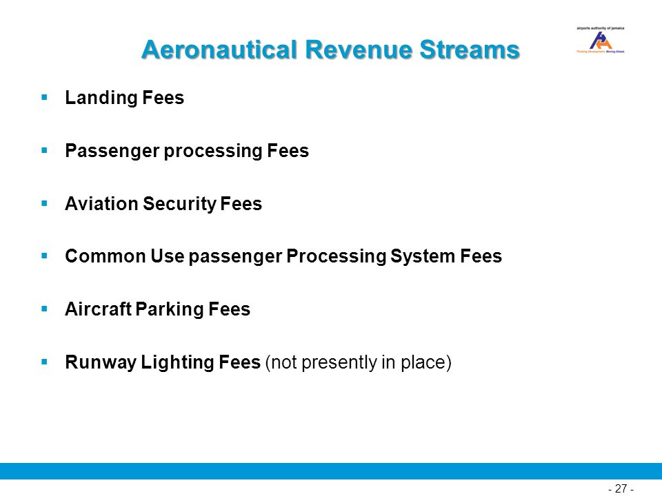 Aeronautical Revenue Streams