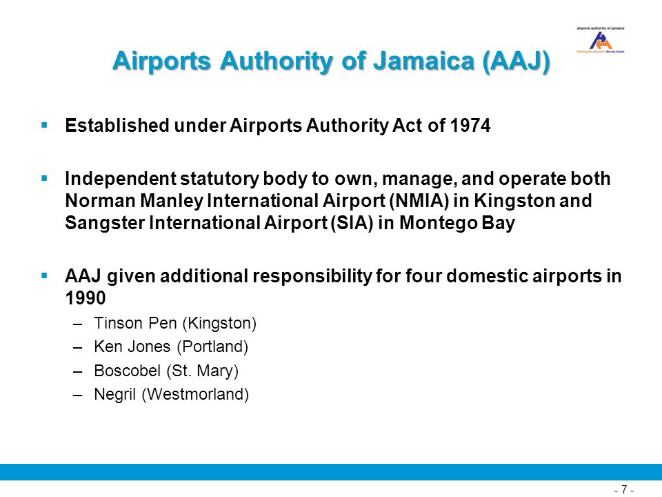Airports Authority of Jamaica (AAJ)