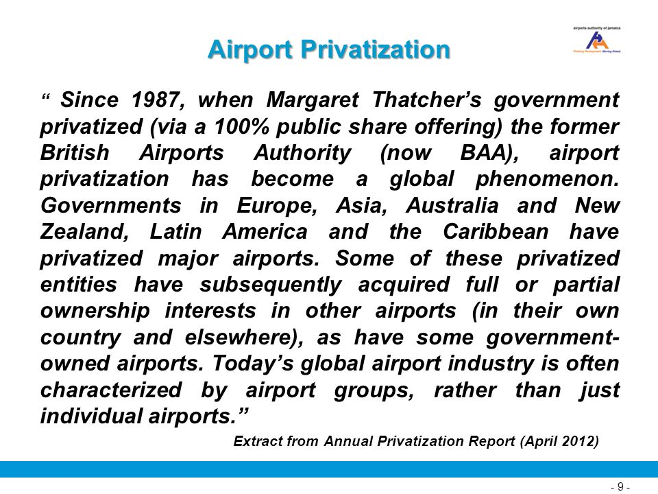 Airport Privatization
