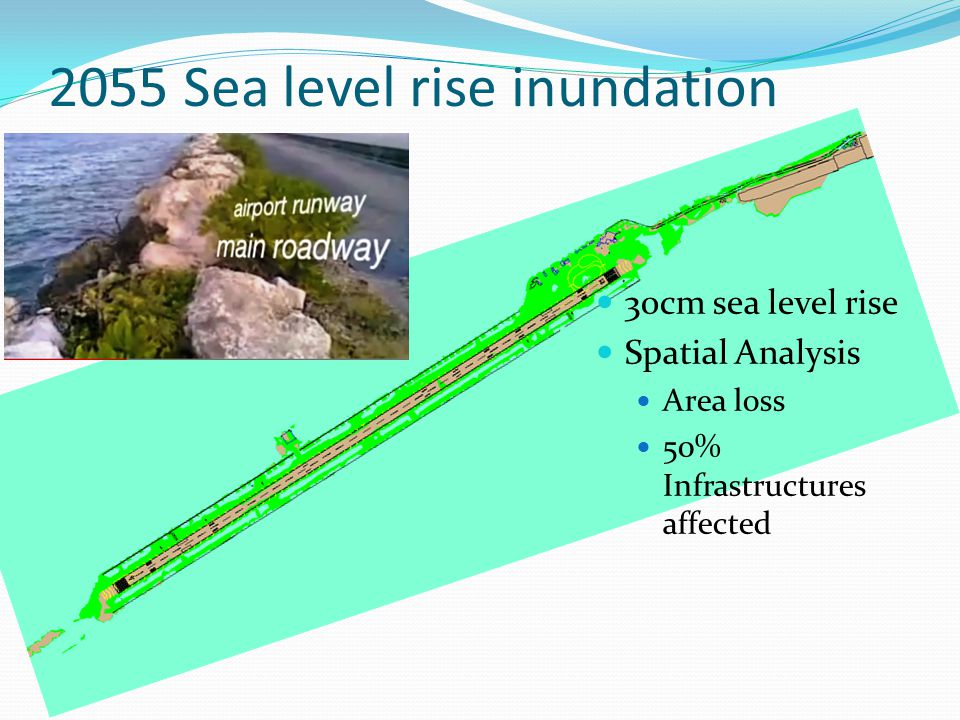 2055 Sea level rise inundation model