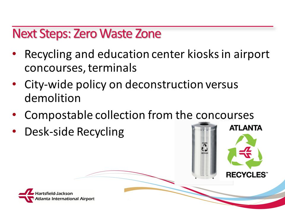 Next Steps: Zero Waste Zone