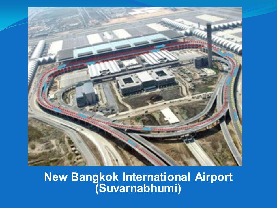 New Bangkok International Airport (Suvarnabhumi)