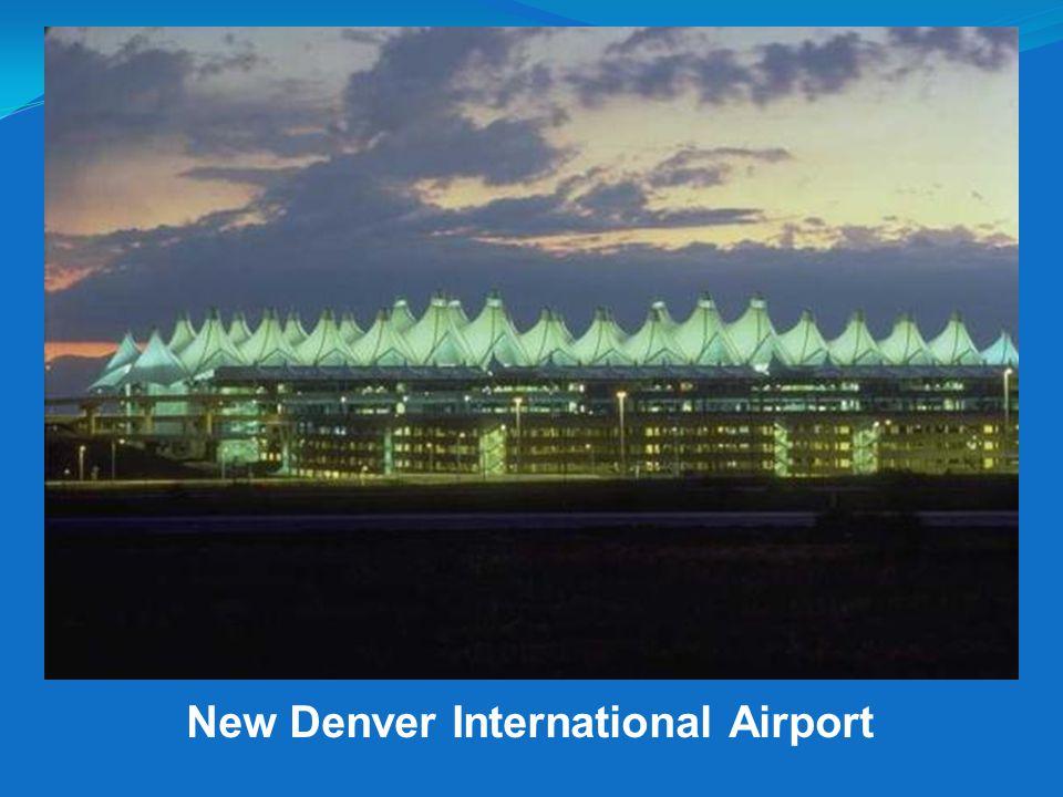 New Denver International Airport