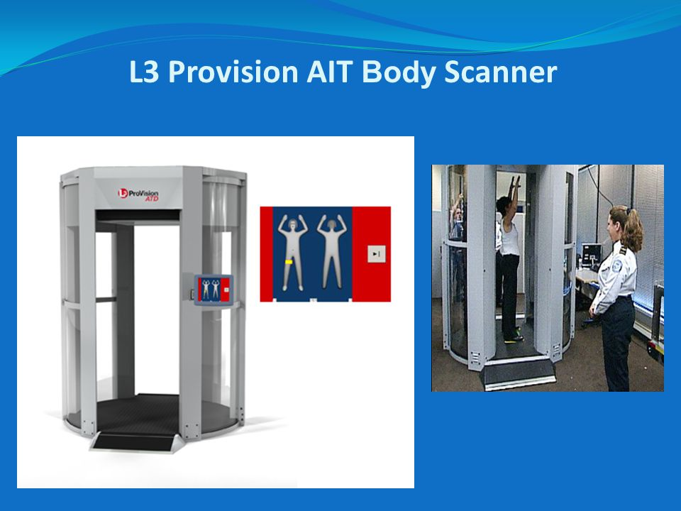 L3 Provision AIT Body Scanner