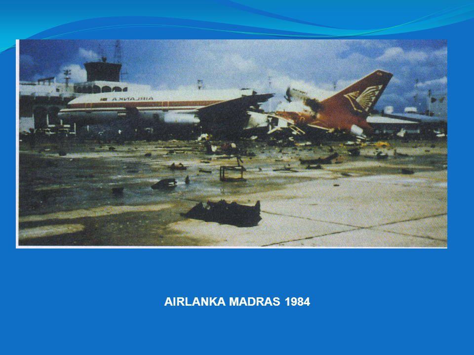 AIRLANKA MADRAS 1984
