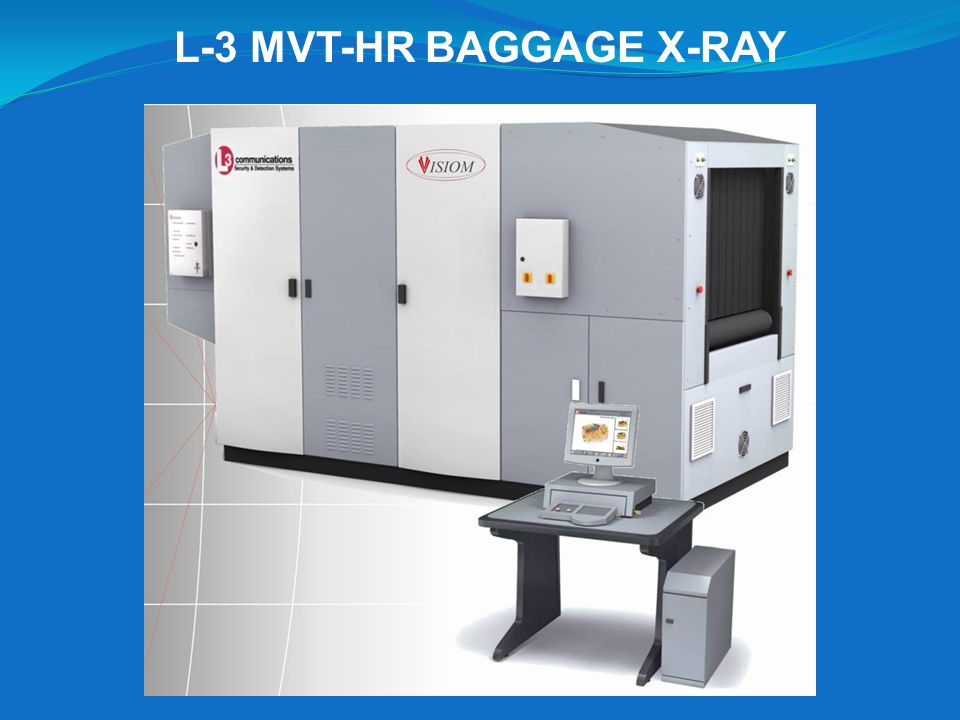 L-3 MVT-HR BAGGAGE X-RAY
