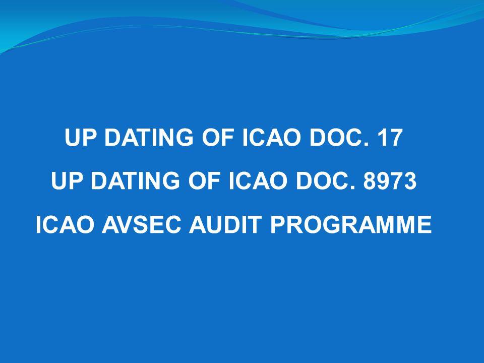 ICAO AVSEC AUDIT PROGRAMME
