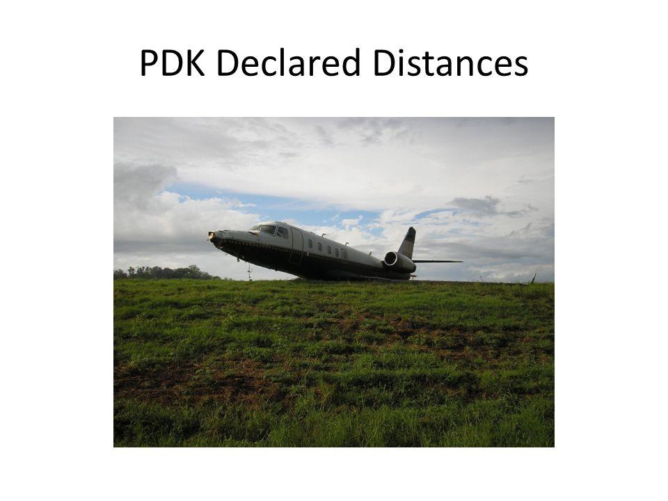 PDK Declared Distances