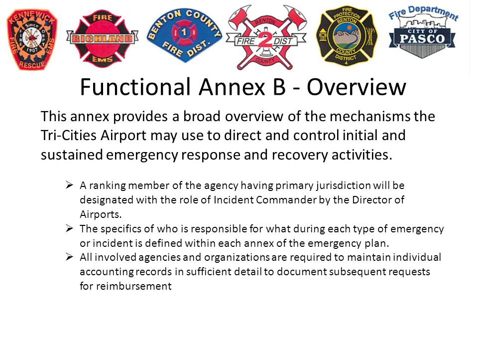 Functional Annex B - Overview