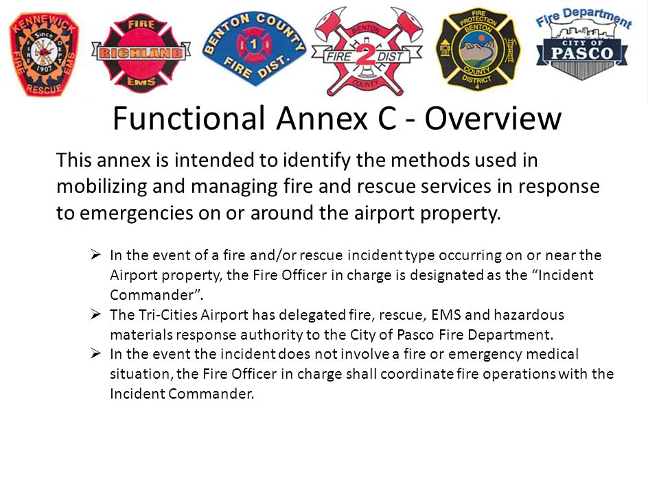 Functional Annex C - Overview
