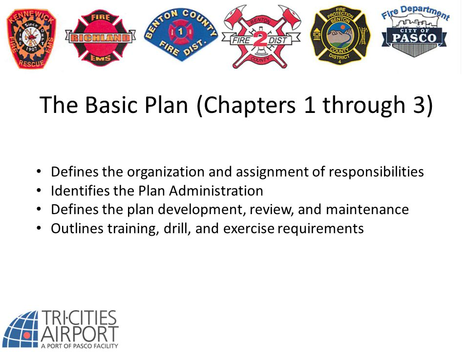 The Basic Plan (Chapters 1 through 3)