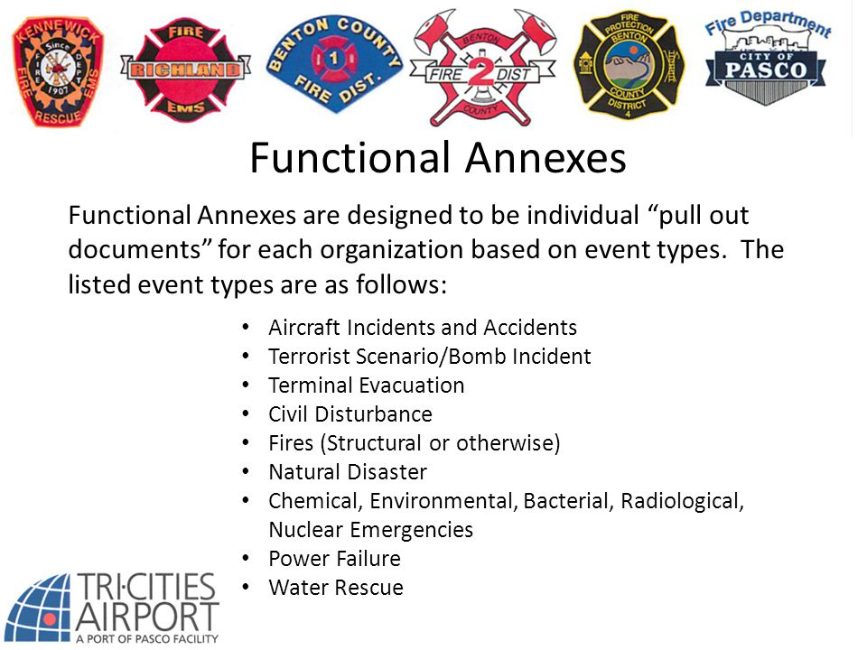 Functional Annexes