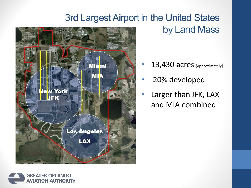 3rd Largest Airport in the United States by Land Mass