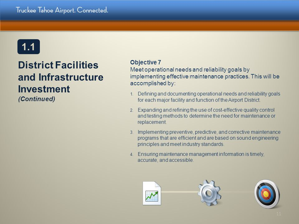 District Facilities and Infrastructure Investment (Continued)