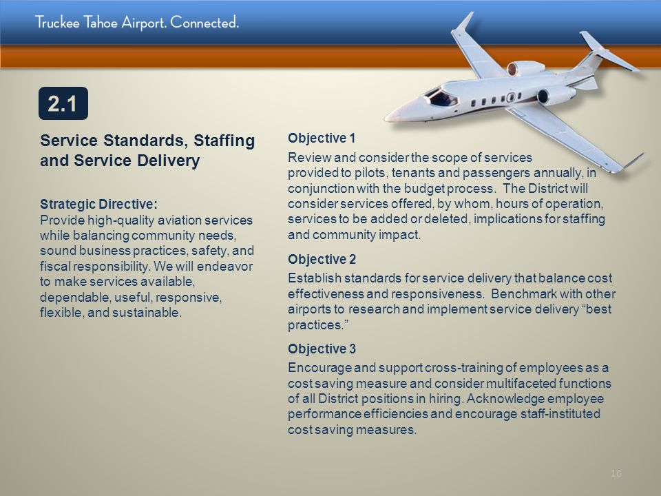 Service Standards, Staffing and Service Delivery