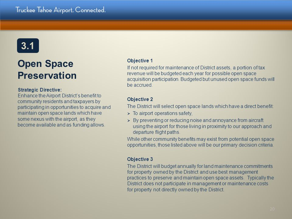 Open Space Preservation
