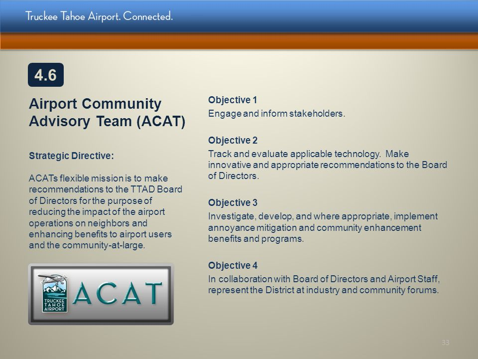 Airport Community Advisory Team (ACAT)