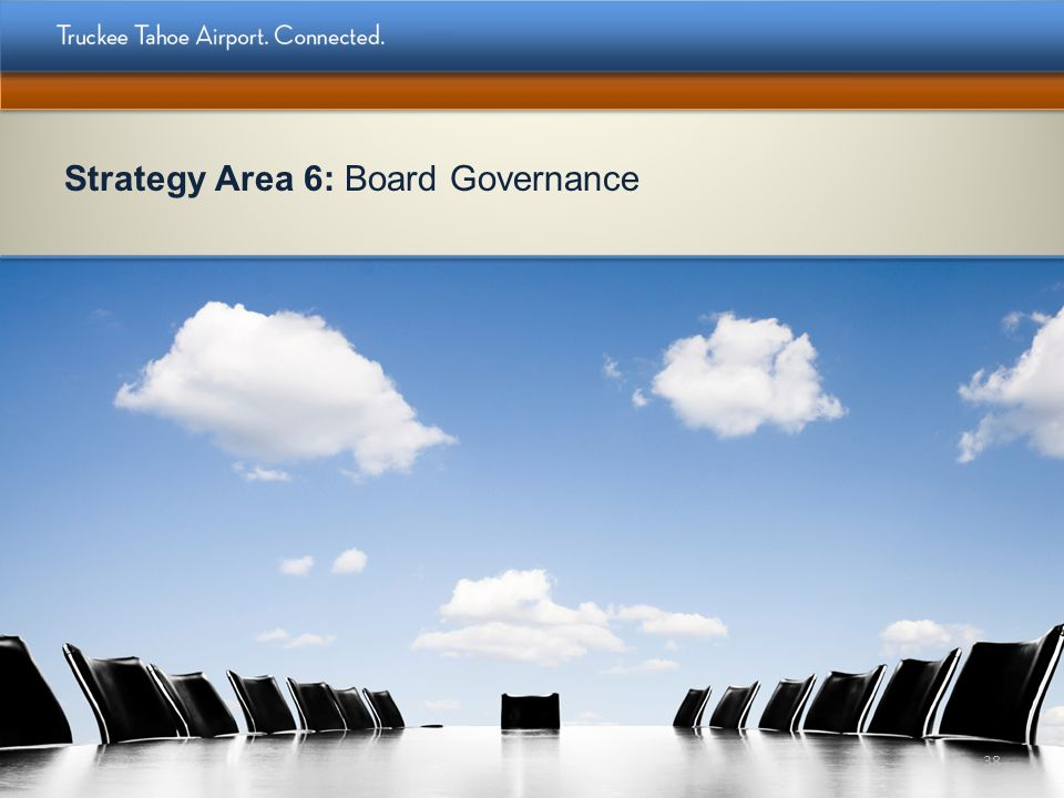 Strategy Area 6: Board Governance