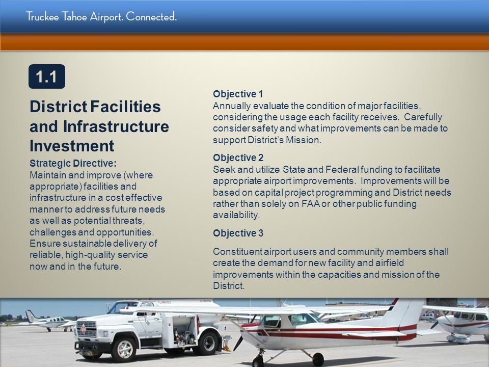 District Facilities and Infrastructure Investment
