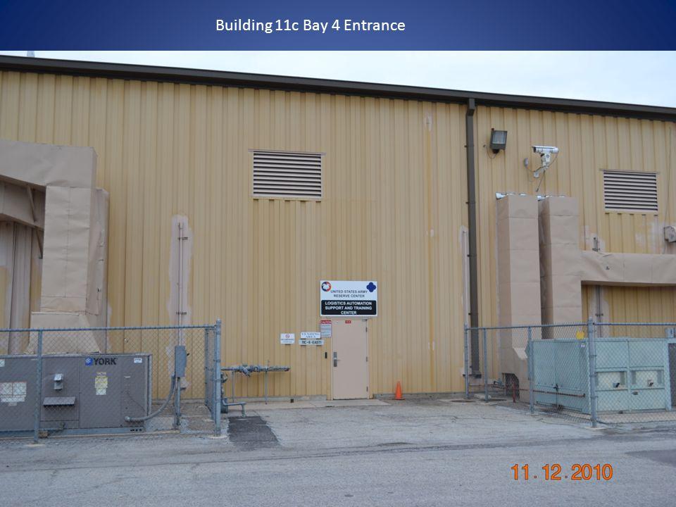 Building 11c Bay 4 Entrance