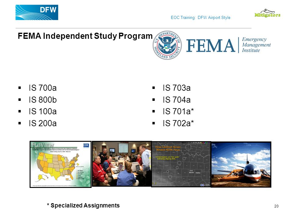 FEMA Independent Study Program