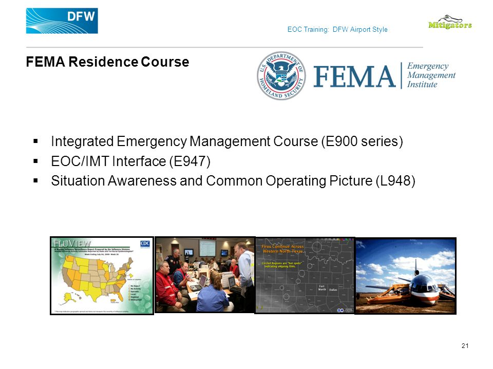 Integrated Emergency Management Course (E900 series)
