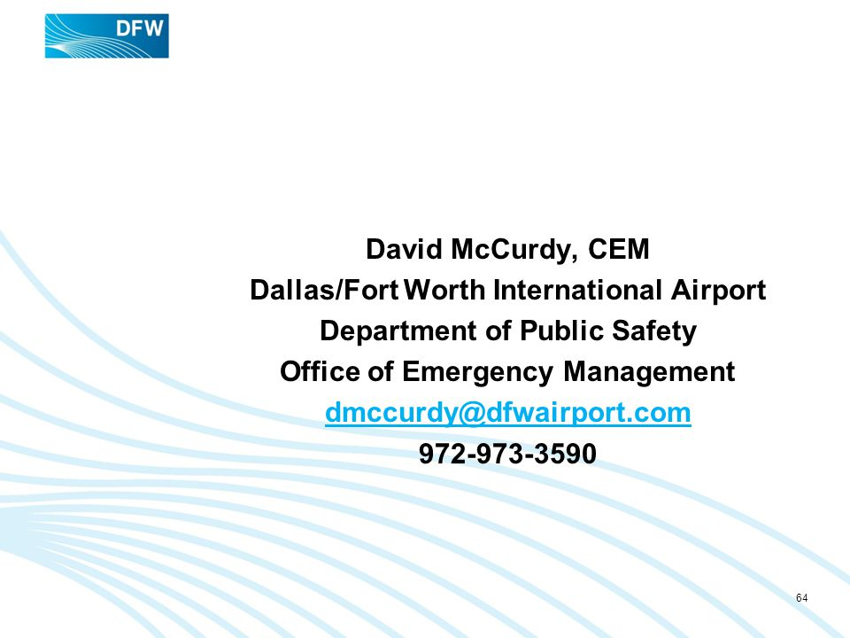 Dallas/Fort Worth International Airport Department of Public Safety