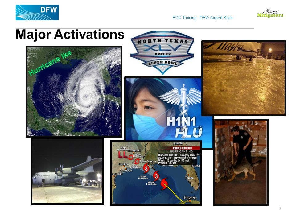 Major Activations Hurricane Ike 7