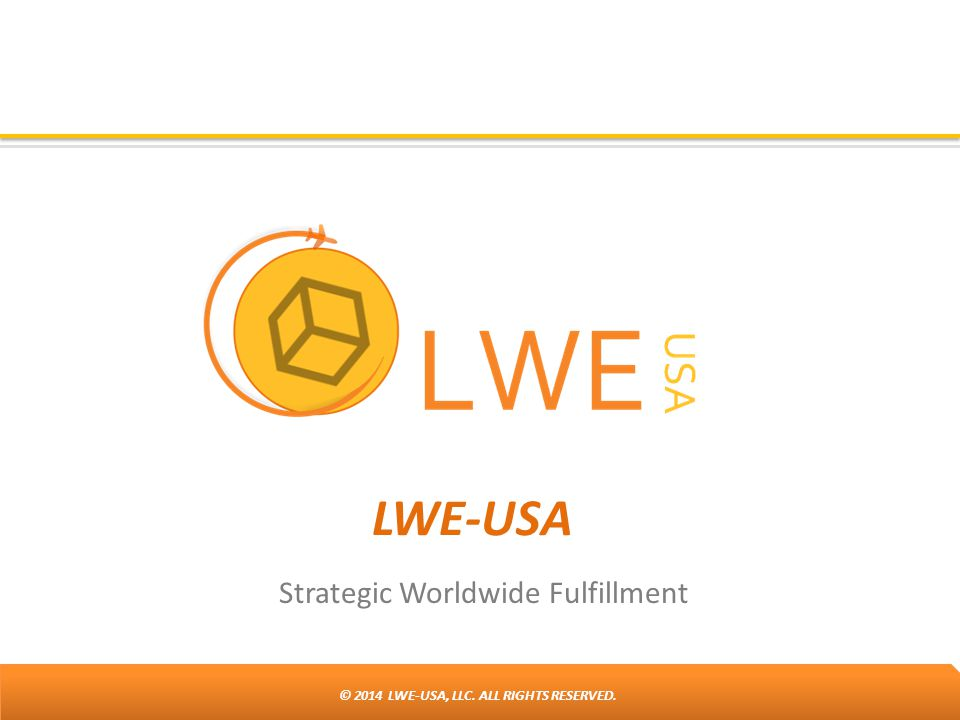 Strategic Worldwide Fulfillment