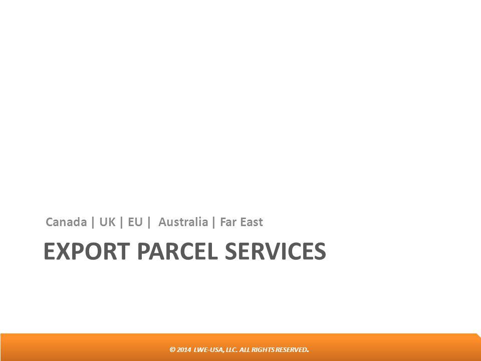 Export parcel services