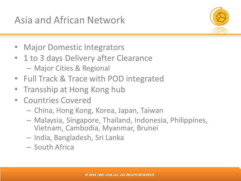 Asia and African Network